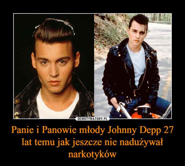 Panie i Panowie młody Johnny Depp 27 lat temu jak jeszcze nie nadużywał narkotyków –