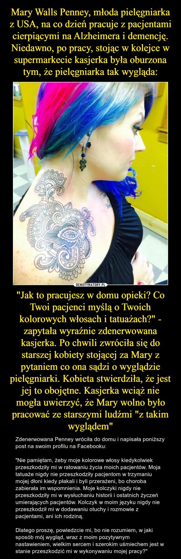 Mary Walls Penney Młoda Pielęgniarka Z Usa Na Co Dzień