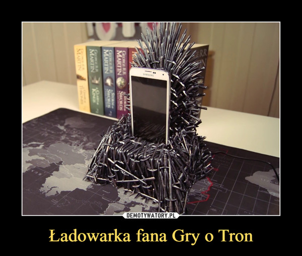 Ładowarka fana Gry o Tron –
