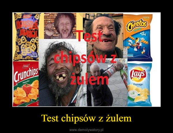 Test chipsów z żulem –