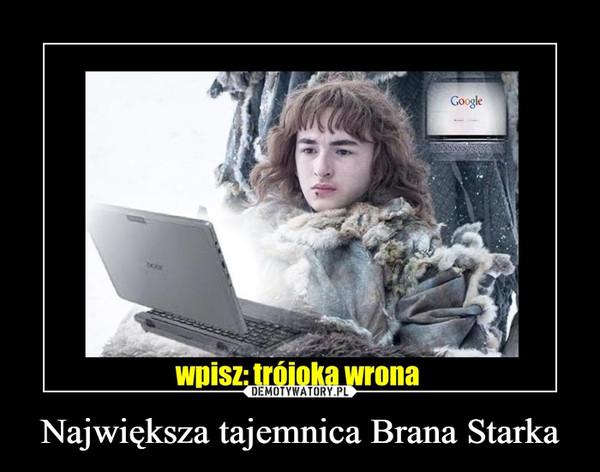 Największa tajemnica Brana Starka –