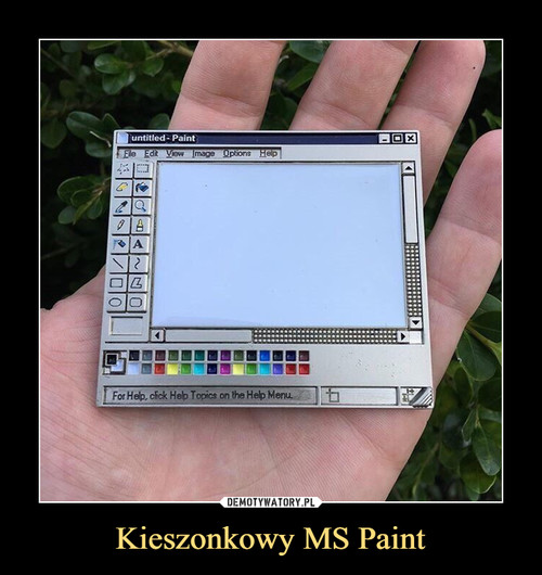 Kieszonkowy MS Paint