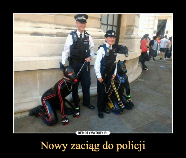 Nowy zaciąg do policji –