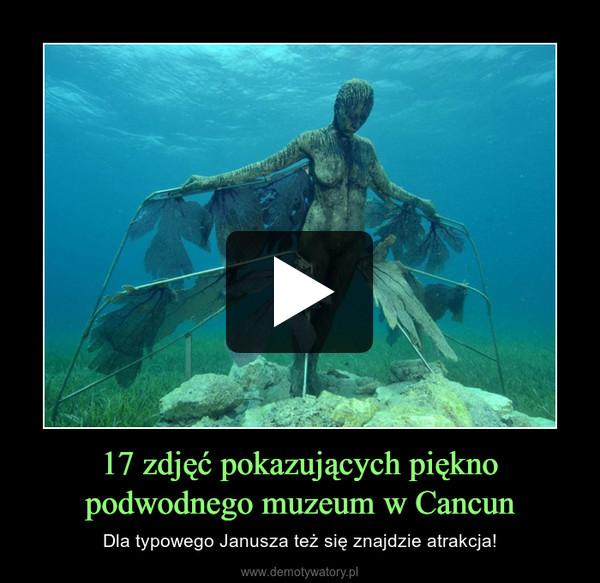 17 zdjęć pokazujących piękno podwodnego muzeum w Cancun – Dla typowego Janusza też się znajdzie atrakcja!