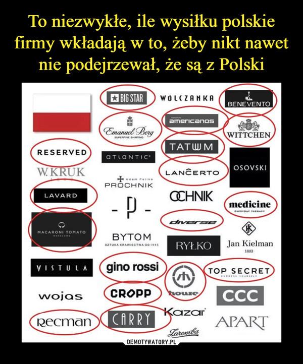 a5eddb467d27b To niezwykłe, ile wysiłku polskie firmy wkładają w to, żeby nikt nawet nie  podejrzewał, że są z Polski – Demotywatory.pl