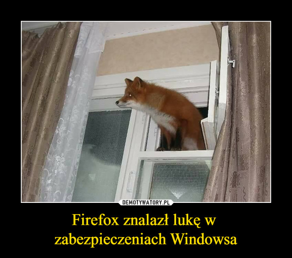 Firefox vs Windows