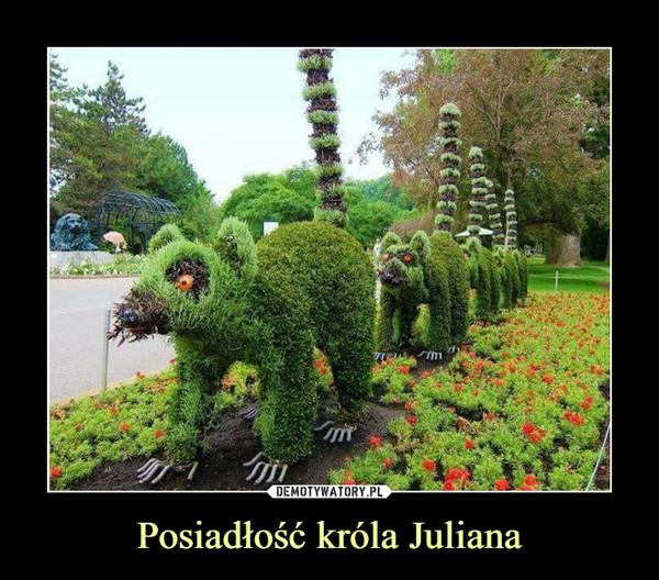 Posiadłość króla Juliana –