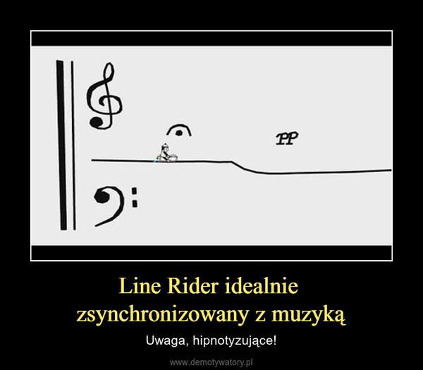 Line Rider idealnie zsynchronizowany z muzyką – Uwaga, hipnotyzujące!