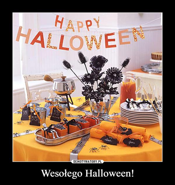 Wesołego Halloween! –