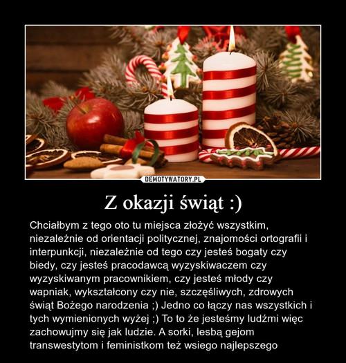 Z okazji świąt :)