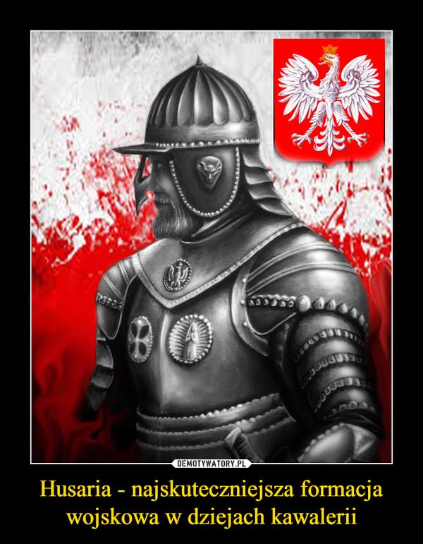 Husaria - najskuteczniejsza formacja wojskowa w dziejach kawalerii –