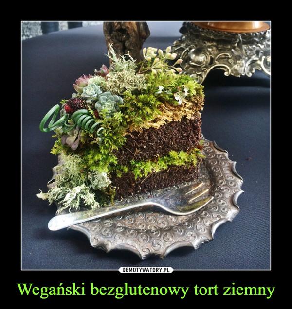 Wegański bezglutenowy tort ziemny –