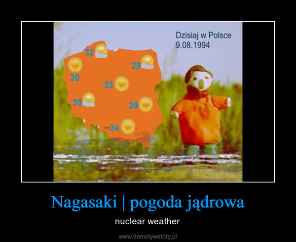 Nagasaki   pogoda jądrowa – nuclear weather
