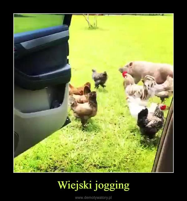 Wiejski jogging –