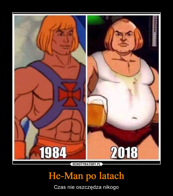 He-Man po latach – Czas nie oszczędza nikogo