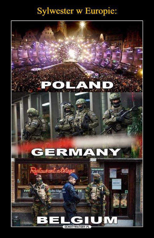 Sylwester w Europie: