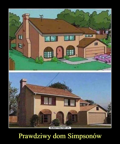 Prawdziwy dom Simpsonów