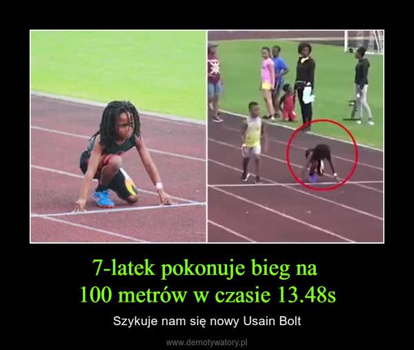 7-latek pokonuje bieg na 100 metrów w czasie 13.48s – Szykuje nam się nowy Usain Bolt