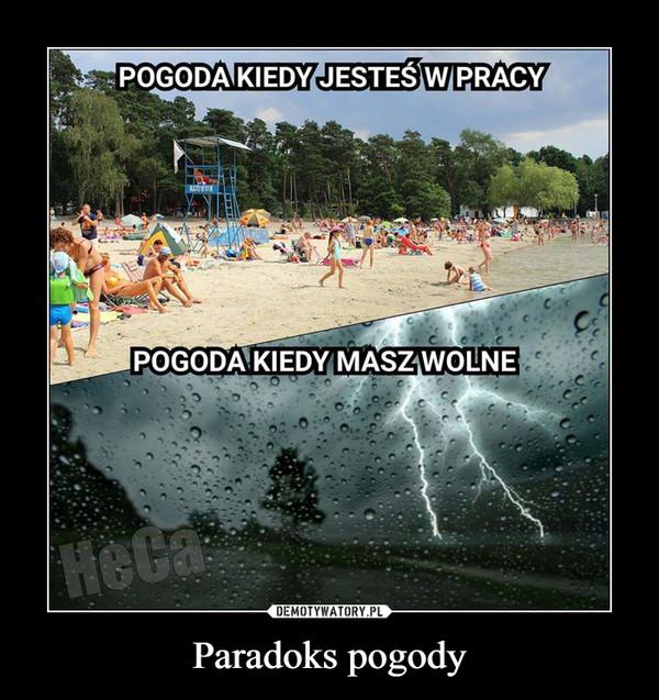 Paradoks pogody –