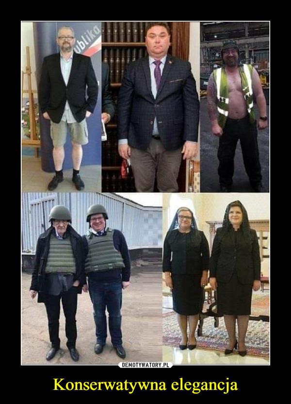 Konserwatywna elegancja –