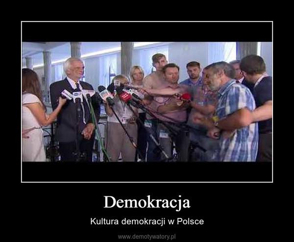 Demokracja – Kultura demokracji w Polsce