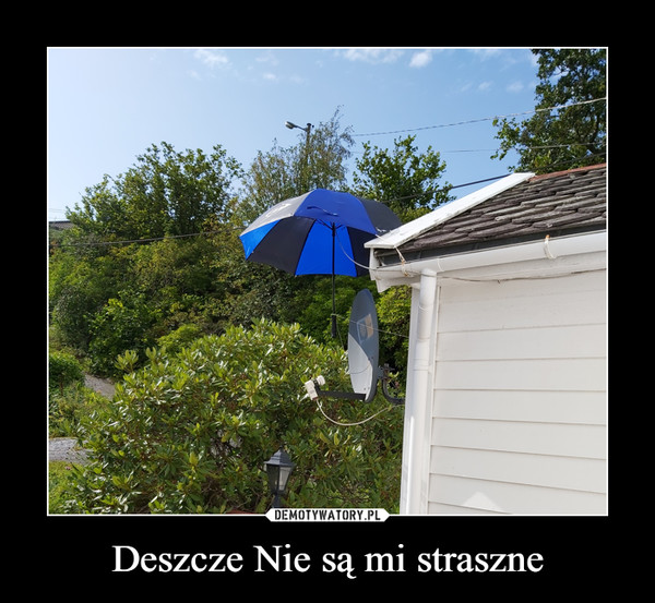 Deszcze Nie są mi straszne –