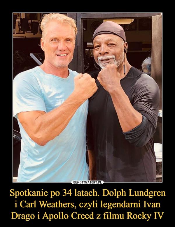 Spotkanie po 34 latach. Dolph Lundgren i Carl Weathers, czyli legendarni Ivan Drago i Apollo Creed z filmu Rocky IV –