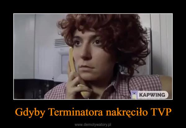 Gdyby Terminatora nakręciło TVP –