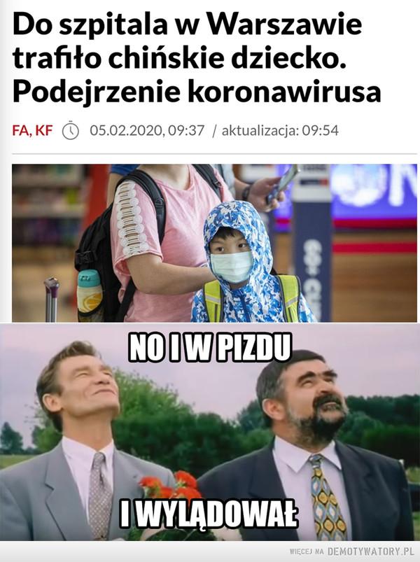 Koronawirus z Wuhan w Polsce –