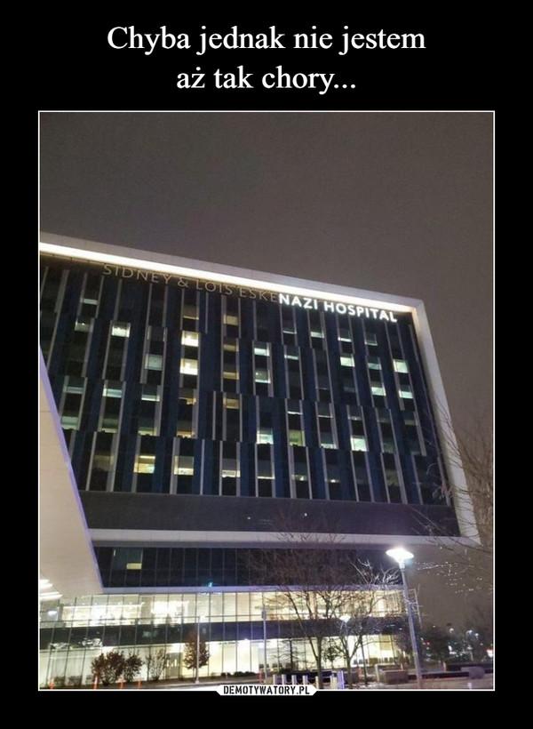–  NAZI HOSPITAL