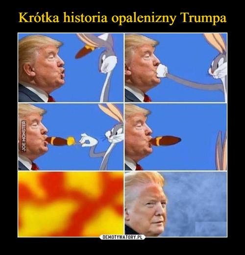 Krótka historia opalenizny Trumpa