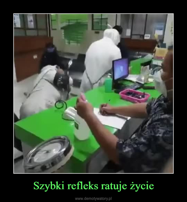Szybki refleks ratuje życie –