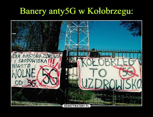 Banery anty5G w Kołobrzegu:
