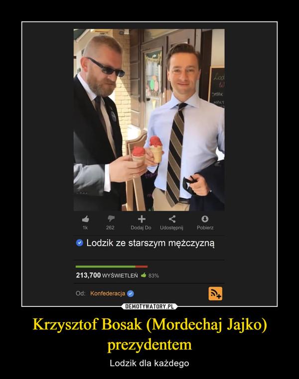 Krzysztof Bosak (Mordechaj Jajko) prezydentem – Lodzik dla każdego