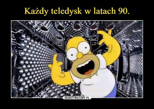 Każdy teledysk w latach 90.