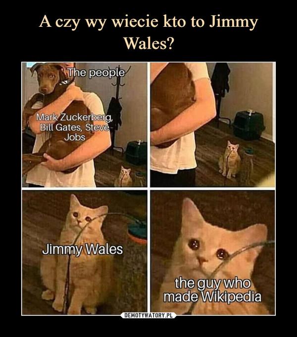 A czy wy wiecie kto to Jimmy Wales?