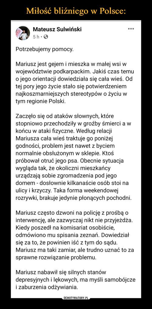 Miłość bliźniego w Polsce: