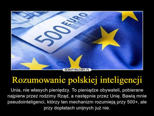 Rozumowanie polskiej inteligencji