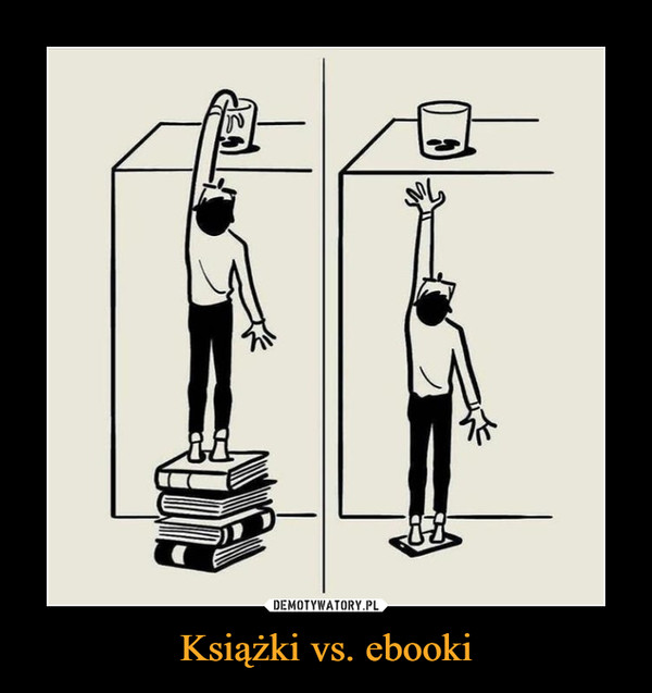 Książki vs. ebooki –