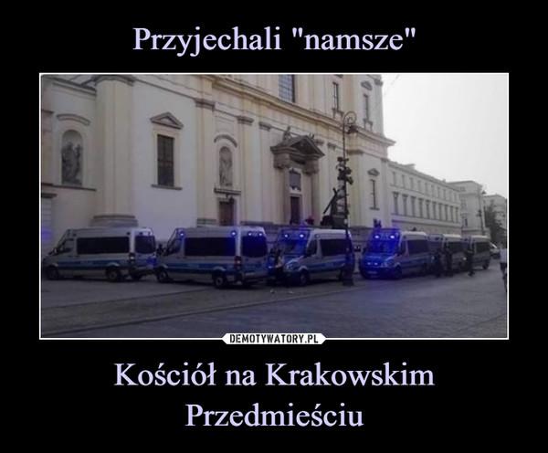 Kościół na Krakowskim Przedmieściu –