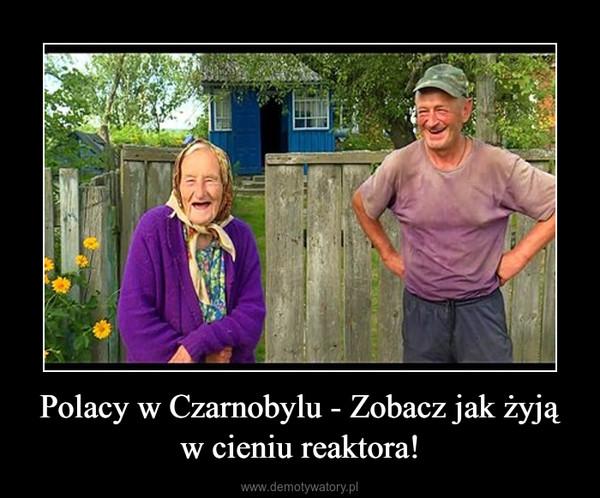 Polacy w Czarnobylu - Zobacz jak żyją w cieniu reaktora! –