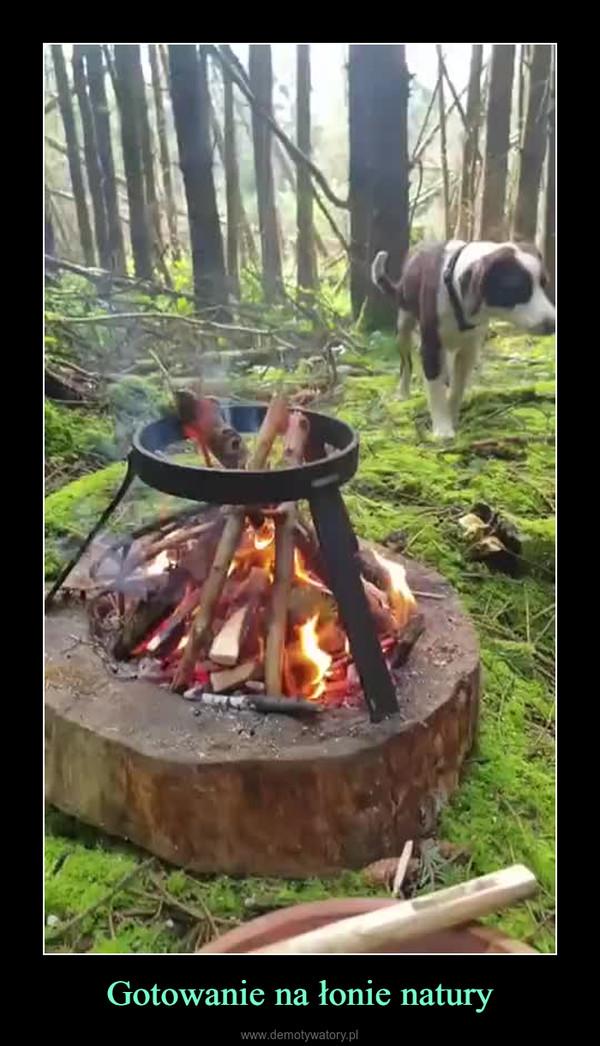 Gotowanie na łonie natury –