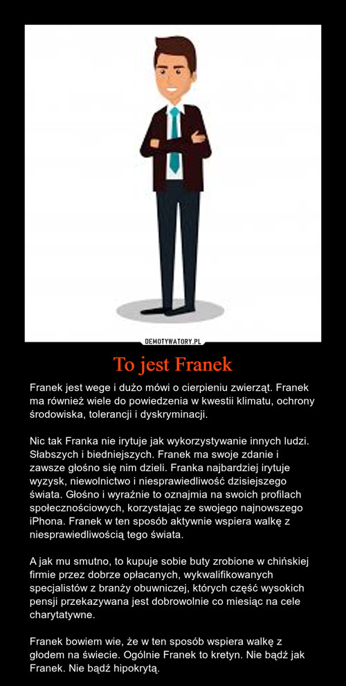 To jest Franek