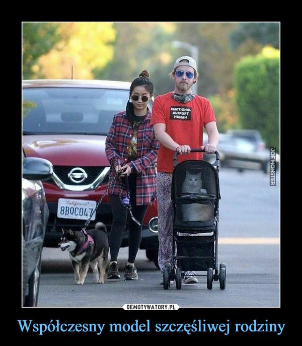 Współczesny model szczęśliwej rodziny –