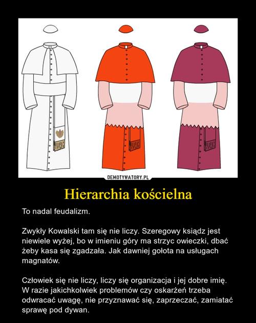 Hierarchia kościelna