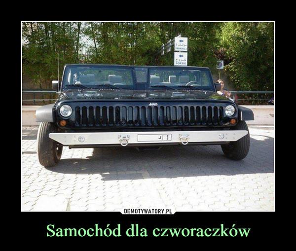 Samochód dla czworaczków –
