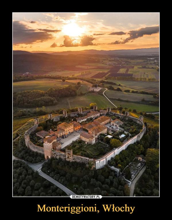 Monteriggioni, Włochy –