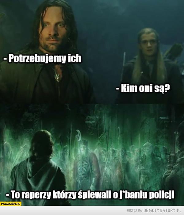 Aragorn i Legolas –