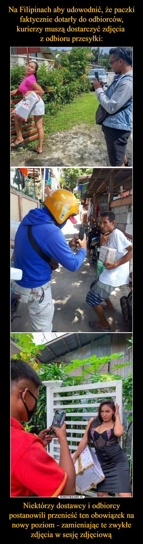 Na Filipinach aby udowodnić, że paczki faktycznie dotarły do odbiorców, kurierzy muszą dostarczyć zdjęcia  z odbioru przesyłki: Niektórzy dostawcy i odbiorcy postanowili przenieść ten obowiązek na nowy poziom - zamieniając te zwykłe zdjęcia w sesję zdjęciową