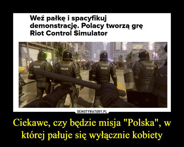 """Ciekawe, czy będzie misja """"Polska"""", w której pałuje się wyłącznie kobiety –  Weź pałkę i spacyfikuj demonstrację. Polacy tworzą grę Riot Control Simulator"""